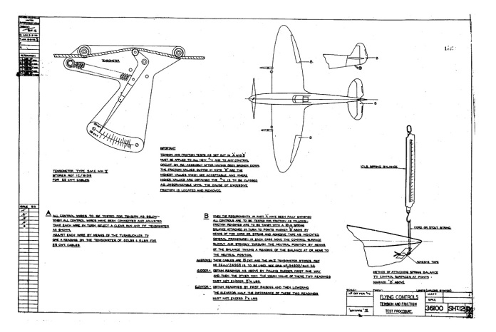 36100 SHT 12 D flying Controls