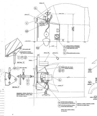 Spitfire Gyro Gunsight assembly